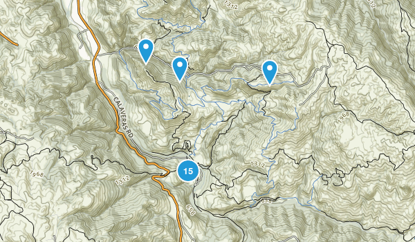 Sunol Regional Wilderness Map