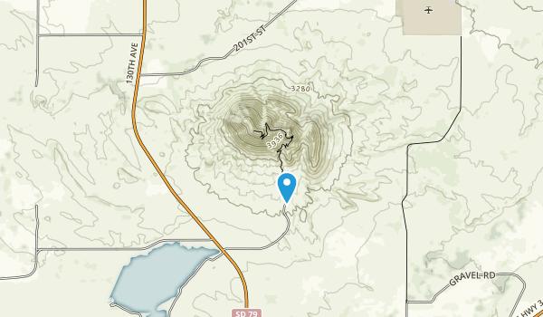 Bear Butte Lac\ke Recreation Area Map