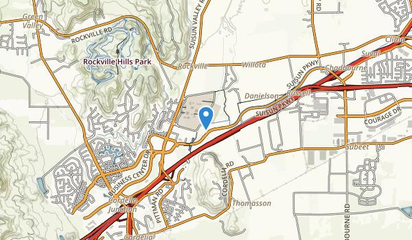 Fairfield Linear Bike Trail Map