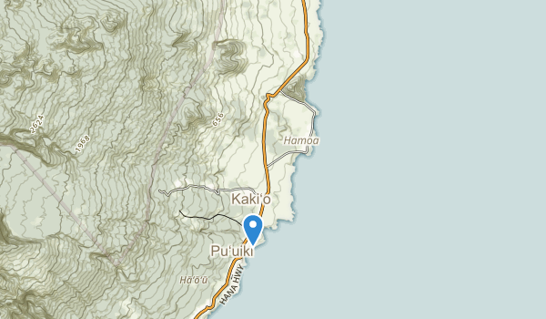 Kōkī Beach Park Map