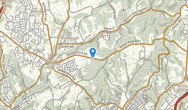 Bushy Run Battlefield State Park Map