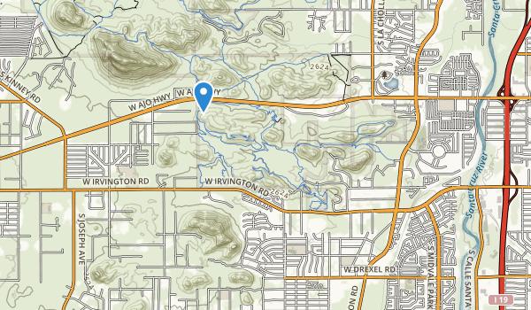 Winston Reynolds-Manzanita Park Map