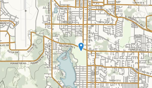 Bresemann Forest/Spanaway Park Map