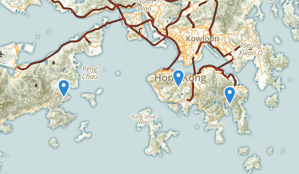 Shek-O county park Map
