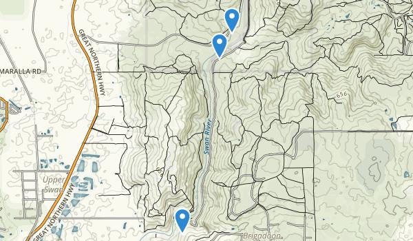 Walyunga National Park Map