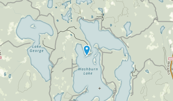Land O'Lakes State Forest Map