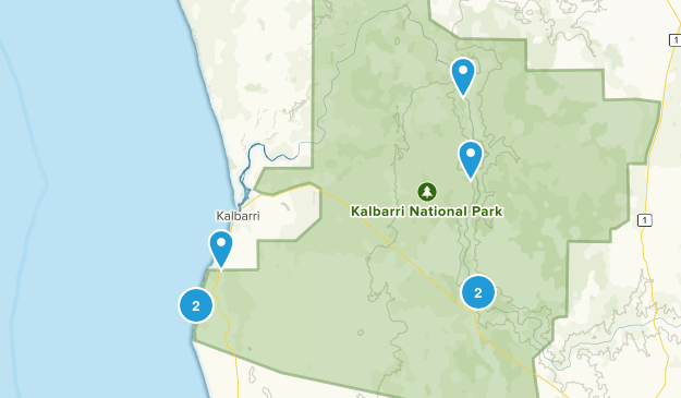 Kalbarri National Park Map