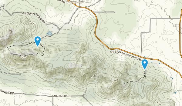 Porongurup National Park Map