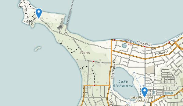 Rockingham Lakes Regional Park Map