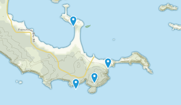 Torndirrup National Park Map