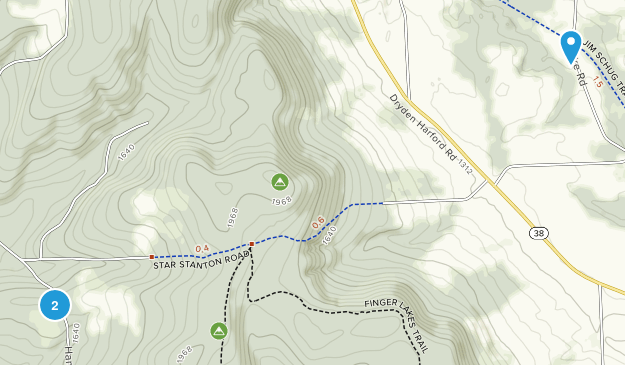 Hammond Hill State Forest Map