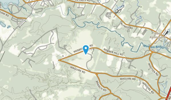 Kennebunk Plains Wildlife Management Area Map