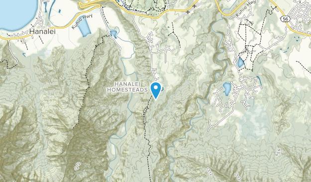 Halelea Forest Reserve Map