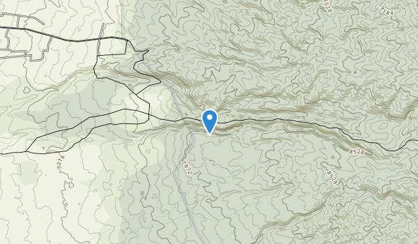 Mount Kenya National Park Map