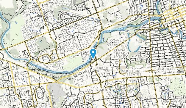 Springbank Park Map