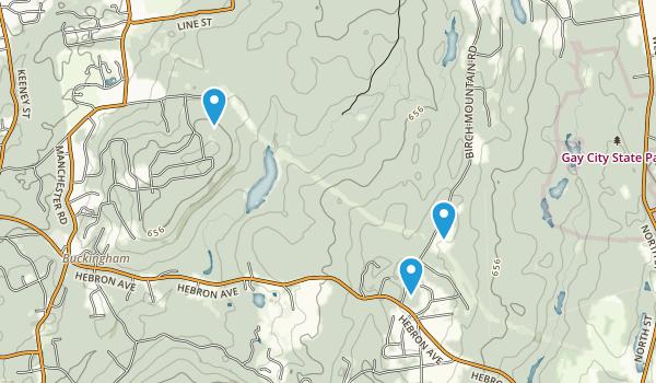 Case Mountain Park Map