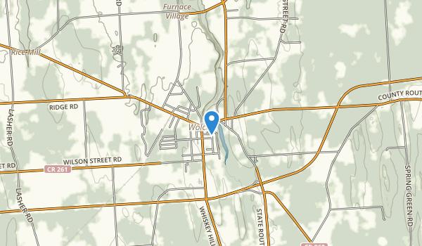 Wolcott Falls Park Map