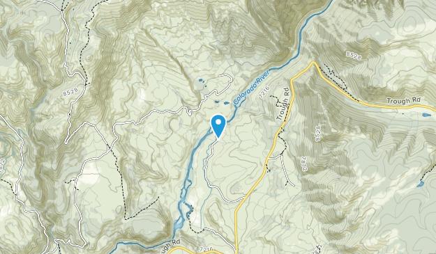 Pumphouse BLM Recreation Area Map