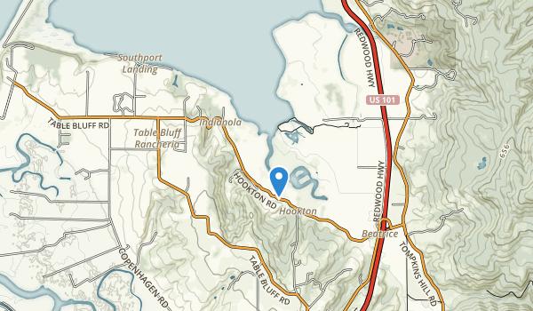 Humboldt Bay National Wildlife Refuge Map