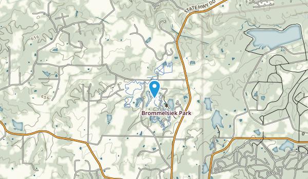 Broemmelsiek Park  Map