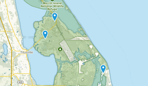 Map Of Merritt Island Florida.Best Trails In Merritt Island National Wildlife Refuge Florida