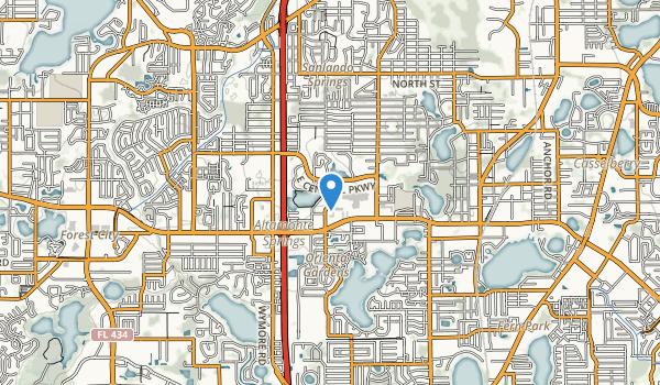 Cranes Roost Park Map