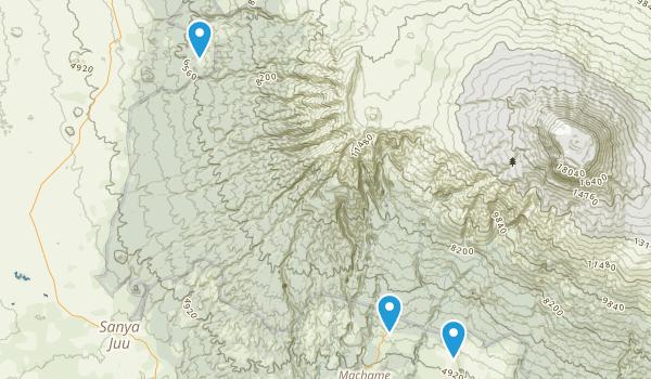 Kilmanjaro National Park Map