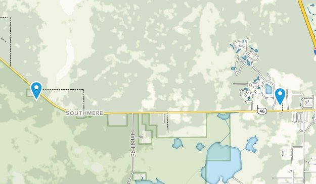 Buck Lake Conservation Area Map