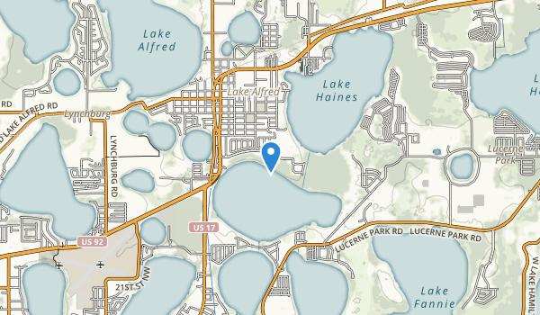 Mackay Gardens and Lakeside Preserve Map