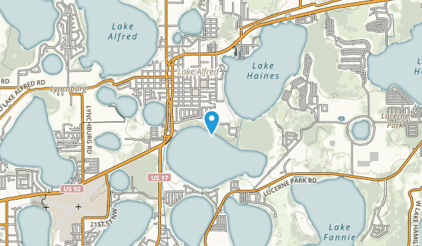 Mackay Gardens and Lakeside Preserve Map