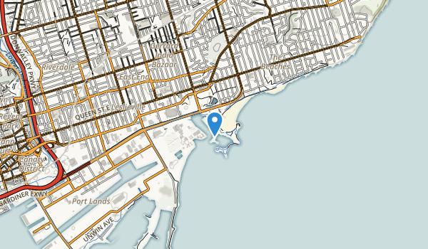 Ashbridge Bay Park Map