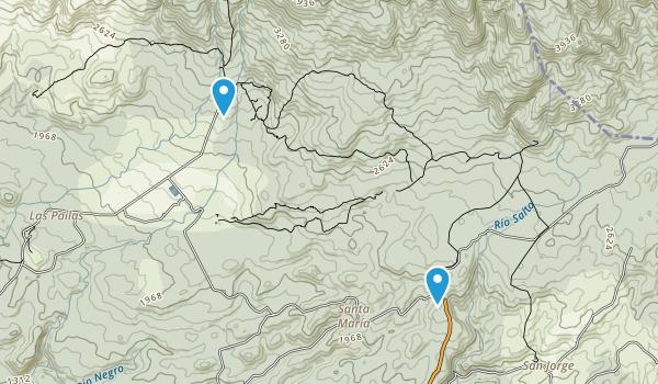 Parque Nacional Rincón de la Vieja Map