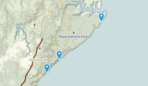 Royal National Park Map
