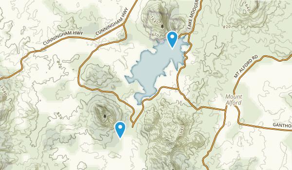 Moogerah Peaks National Park Map