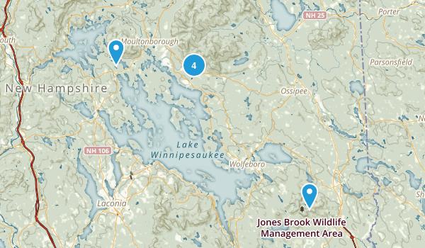 Lakes Region Conservation Trust Map