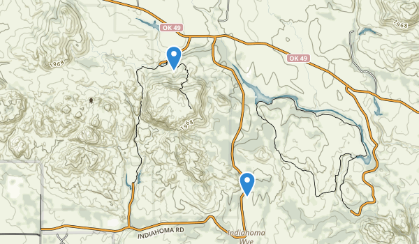 Charons Garden Wilderness Map