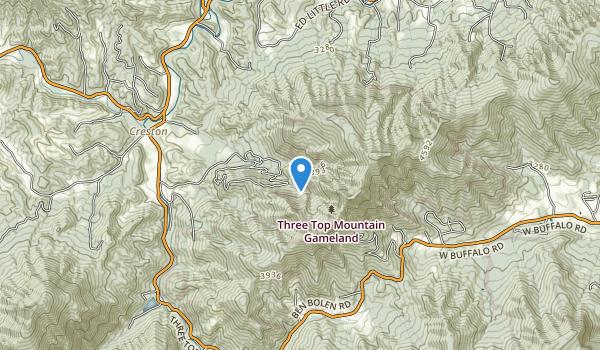 Three Top Mountain Gameland Map