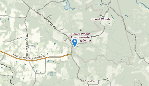 Howell Woods Environmental Learning Center Map