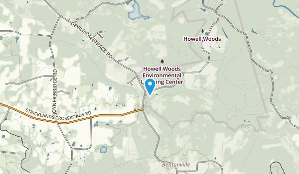 Howell Woods Environmental Learning Center Map