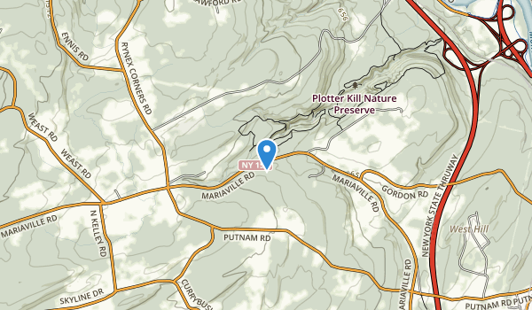 Plotter Kill Nature Preserve  Map