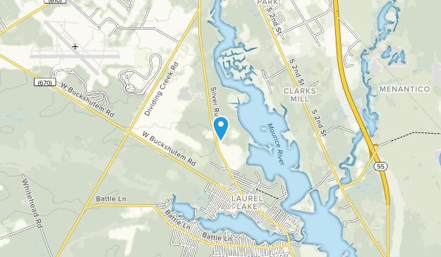 Maurice River Bluffs Preserve Map