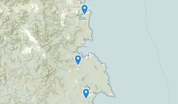 Ben Boyd National Park Map