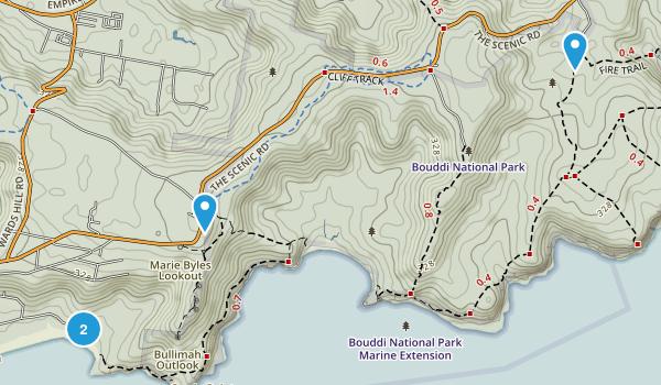 Bouddi National Park Map