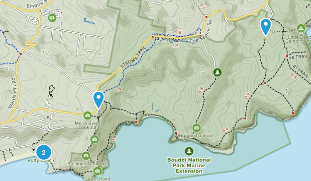 Bouddi National Park Map