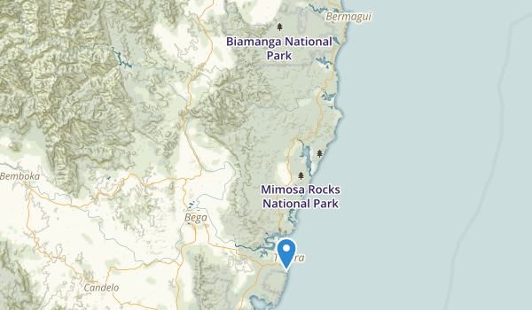 Bournda National Park Map