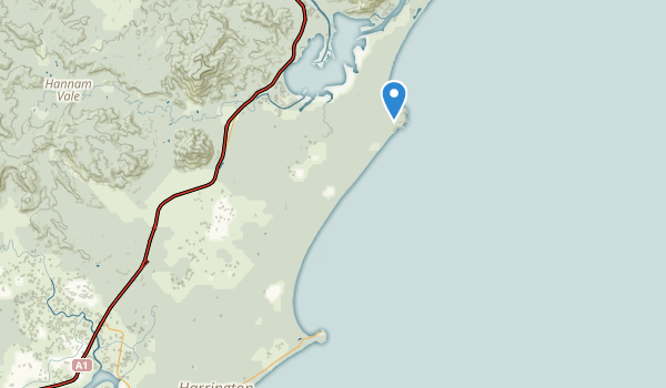 Crowdy Bay National Park Map