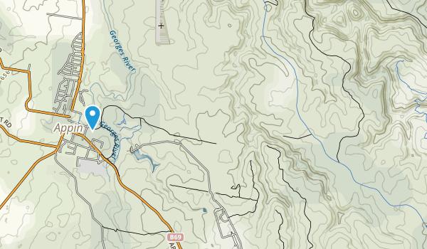 Dharawal National Park Map