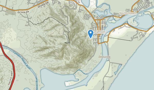 Dooragan National Park Map