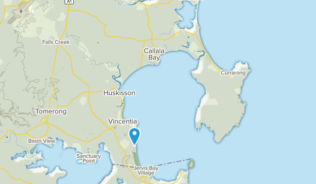 Australia Map Jervis Bay.Best Trails In Jervis Bay National Park New South Wales Australia