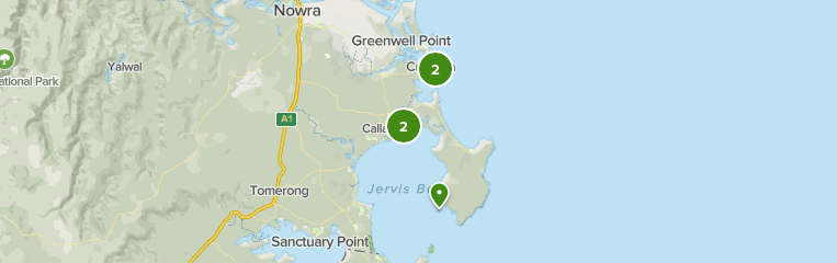 Map Of Jervis Bay Area – Free map jervis bay online.
